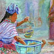 Guatemala Impression Iv Art Print