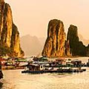 Halong Bay - Vietnam Art Print