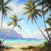 Hanalei Bay Art Print