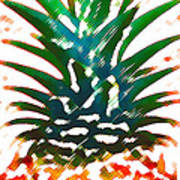 Hawaiian Pineapple Art Print