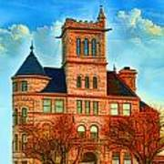 Historic City Hall Springfield  Mo Art Print