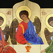 Holy Trinity Art Print by Amy Reisland-Speer