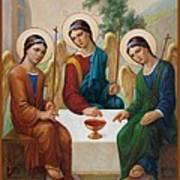 Holy Trinity - Sanctae Trinitatis Art Print