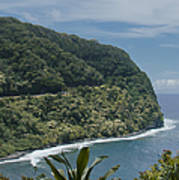 Honomanu - Highway To Heaven - Road To Hana Maui Hawaii Art Print
