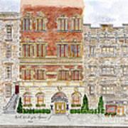 Hotel Washington Square Art Print