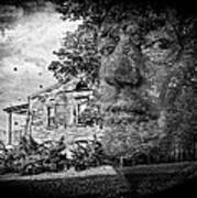 House On Haunted Hill Art Print by Madeline Ellis