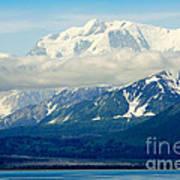 Hubbard Glacier Alaska Art Print