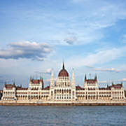 Hungarian Parliament Building In Budapest Art Print