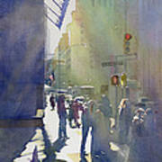 I Saw The Light At 44th And Broadway Art Print