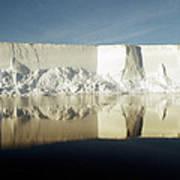 Iceberg Ross Sea Antarctica Art Print