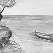 Il Pescatore Solitario Art Print