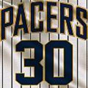 Indiana Pacers Uniform Art Print