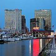 Inner Harbor Art Print