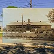 Josephine F. Wilbur School In Little Compton Rhode Island Art Print