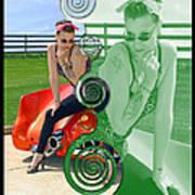Kandi Blaze Poster 3 Art Print