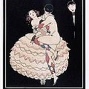 Karsavina Art Print by Georges Barbier