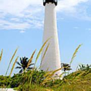 Key Biscayne Lighthouse Art Print