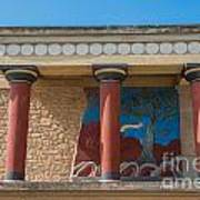 Knossos Palace Art Print by Luis Alvarenga