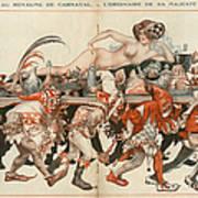 La Vie Parisienne 1926 1920s France Art Print