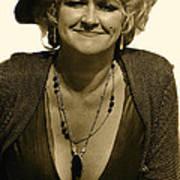 Lady Extra The Great White Hope Set Globe Arizona 1969-1984 Art Print