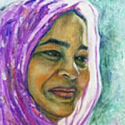 Lady From Bangladesh Art Print