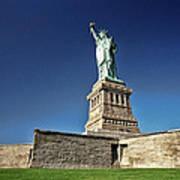 Lady Liberty 2 Art Print