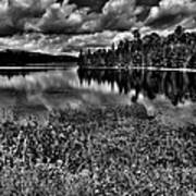 Lake Abanakee In The Adirondacks Art Print