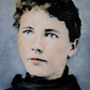Laura Ingalls Wilder (1867-1957) Art Print