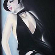Liza's Cabaret Art Print