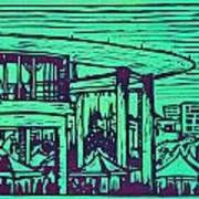 Long Center Art Print