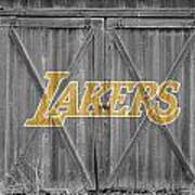 Los Angeles Lakers Art Print