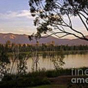 Lower Otay Lake - California Art Print