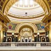 Madison Capitol Art Print
