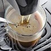 Making A Coffee Art Print