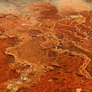 Mammoth Hot Springs Art Print