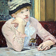 Manet's Plum Brandy Art Print
