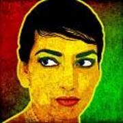 Maria Callas Art Print