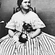 Mary Todd Lincoln (1818-1882) Art Print