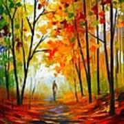 Melody Of Autumn Art Print