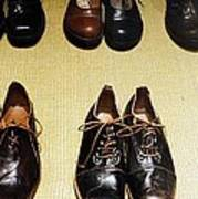 Mens Fine Italian Leather Shoes Art Print