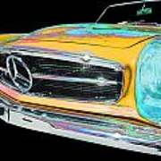 Mercedes Benz Art Print