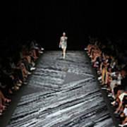 Mercedes-benz Fashion Week Spring 2015 Art Print