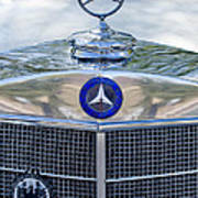 Mercedes-benz Hood Ornament Art Print