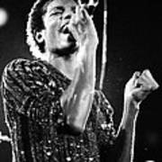 Michael Jackson 1981 Art Print
