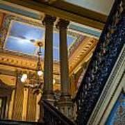 Michigan Capitol Building Art Print
