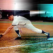 Mickey Mantle Art Print