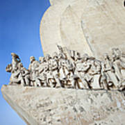 Monument To The Discoveries In Lisbon Art Print