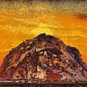 Morro Rock 3007 Art Print