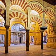 Mosque-cathedral In Cordoba Art Print