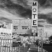 2 Motels Art Print
